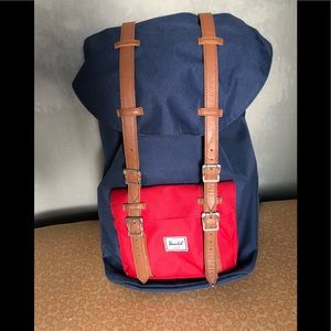 Little America navy Herschel backpack